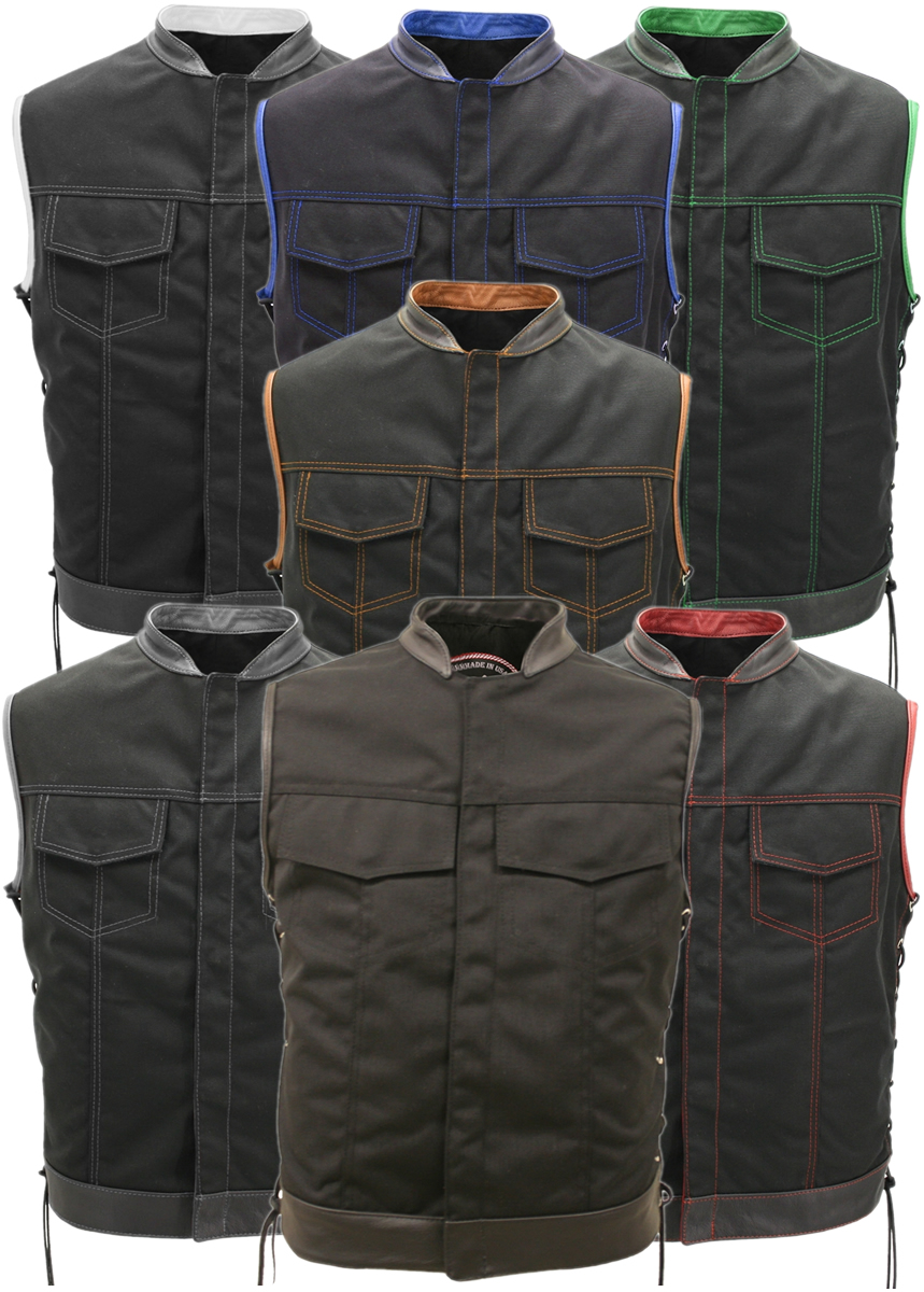 SOA Style Side Lace Water Resistant Military Grade Fabric (Cordura)
